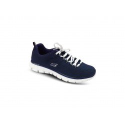 Basket Bleu SAFE AND SOUND SKECHERS