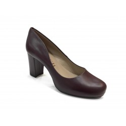 Escarpin talon NUMIS 18 Bordeaux UNISA