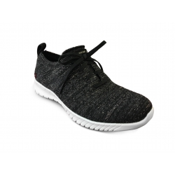 Basket  WAVE LITE glo up Black SKECHERS