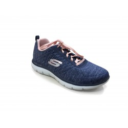 Basket Bleu /Rose Flex Appeal SKECHERS